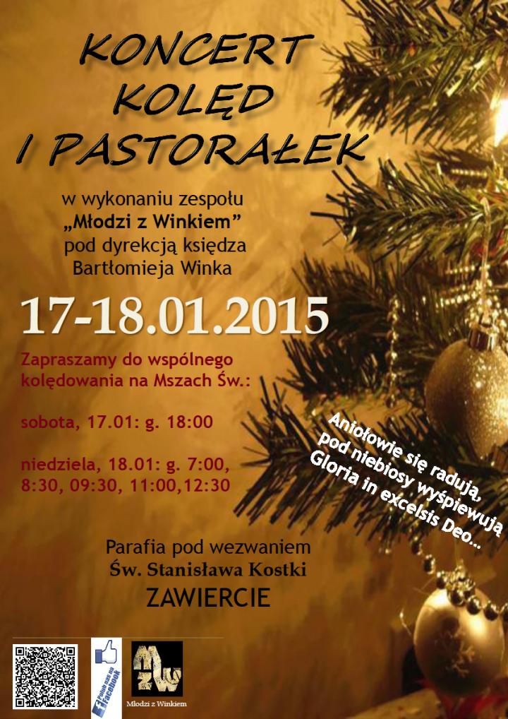 Koncert - parafia św. Stanisława Kostki Zawiercie