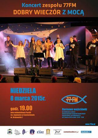 koncert 77FM