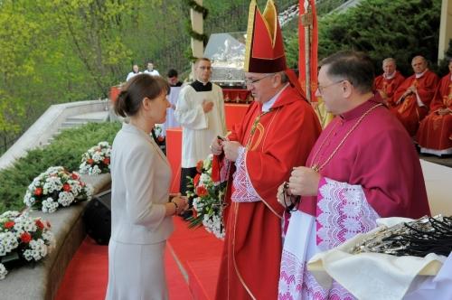 przyjęcie krzyża misyjnego