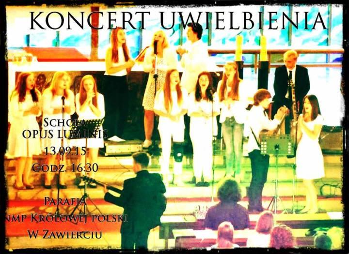 koncert uwielbienia w sw. Jacku