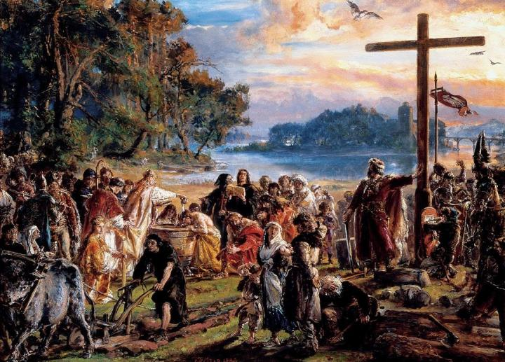 Matejko_Christianization_of_Poland