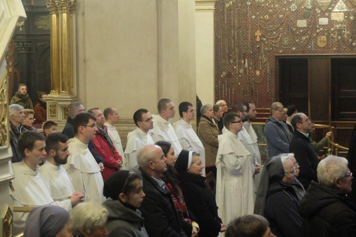 Msza św. w inetncji rodzin kleryków paulińskich1