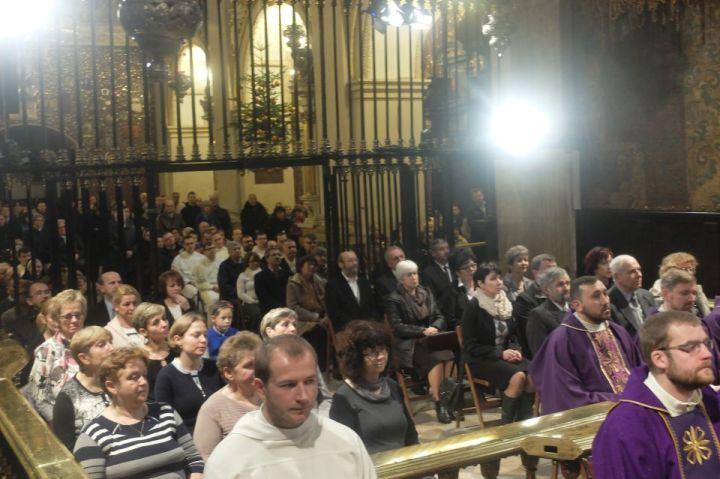 Msza św. w inetncji rodzin kleryków paulińskich3