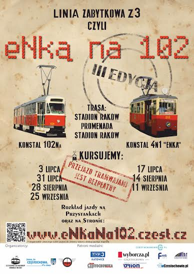 linia zabytkowa tramwaj