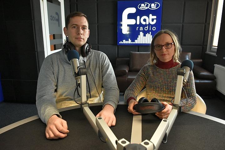 Łukasz Wilczura, Agnieszka Fiuk/fot. Zbyszek Derda Radio Fiat