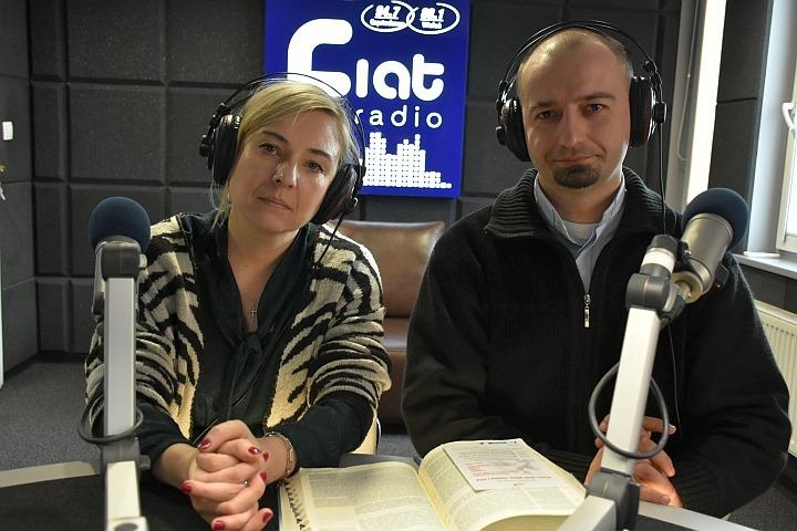 Joanna Gawęda, ks. Przemysław Kosior/fot. Zbyszek Derda Radio Fiat