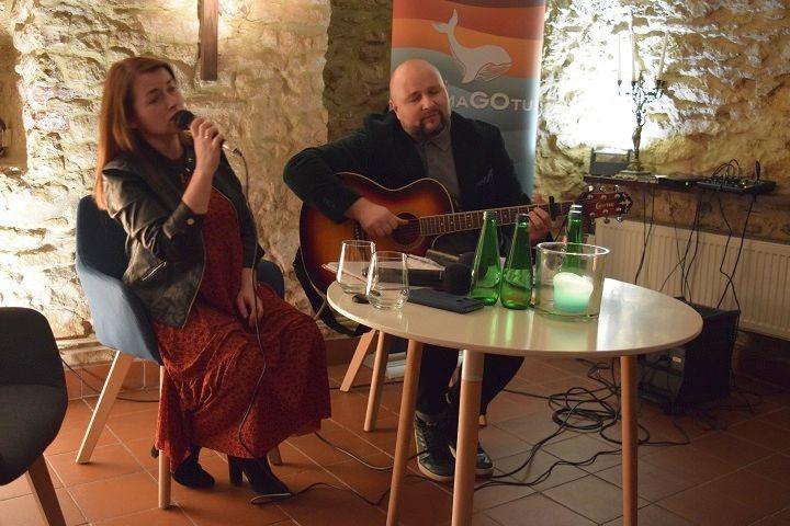 Ola Maciejewska, Kuba Blycharz/fot. AM Radio Fiat