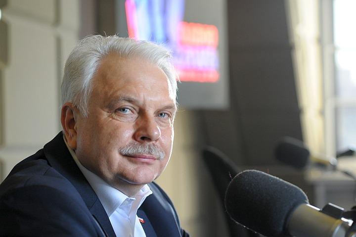 minister Waldemar Kraska/fot. ks. Mariusz Wedziuk Radio Warszawa