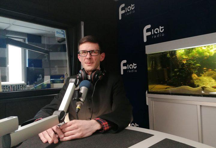 ks. Paweł Dzierzkowski, zastępca dyrektora Caritas Archidiecezji Częstochowskiej/fot. Radio Fiat