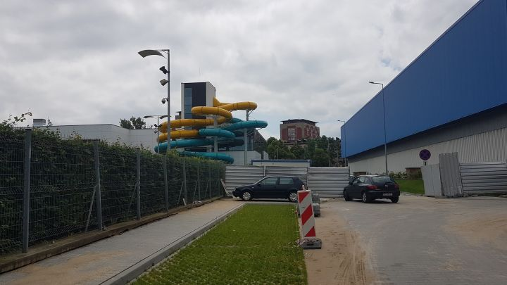 Otwarcie aquaparku dopiero jesienią