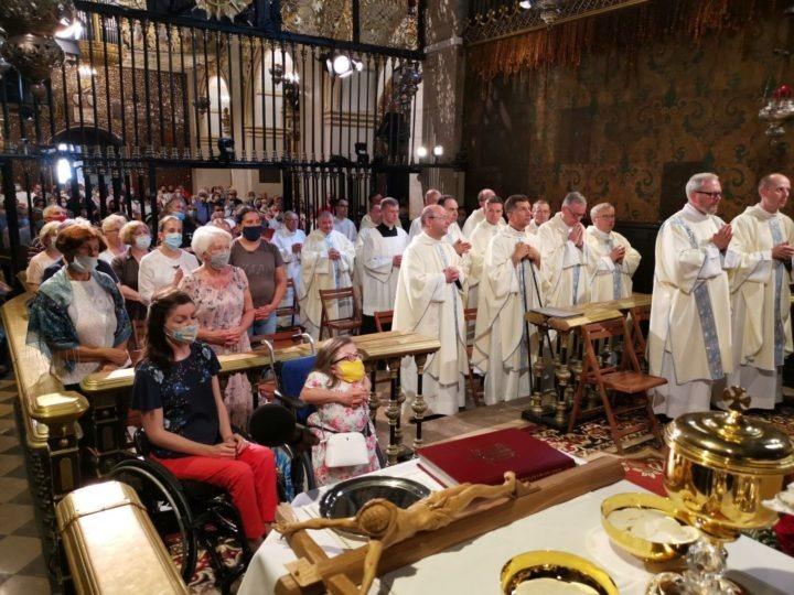 Chorzy po raz 55-ty pielgrzymują na Jasną Górę