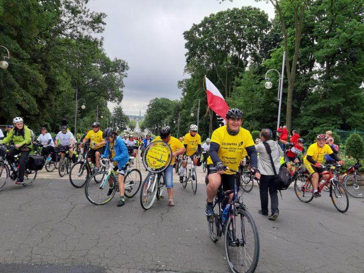 Rowerzyści z całej Polski na Jasnej Górze