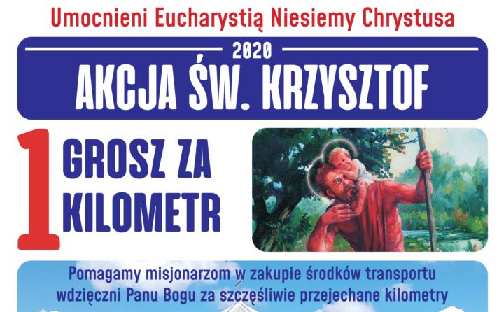 Zbliża się Tydzień św. Krzysztofa