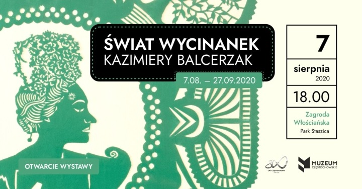 Świat wycinanek Kazimiery Balcerzak – wystawa Muzeum Częstochowskiego