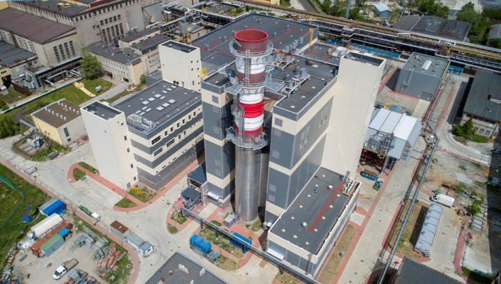Blok gazowo-parowy Elektrociepłowni Stalowa Wola zsynchronizowany z siecią