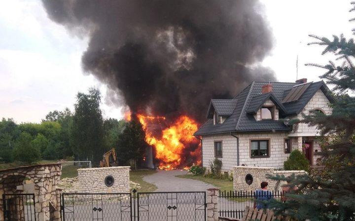 Zbiórka na leczenie dla rodziny po pożarze