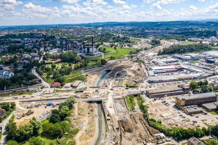 TAURON na budowie największej drogowej inwestycji Krakowa