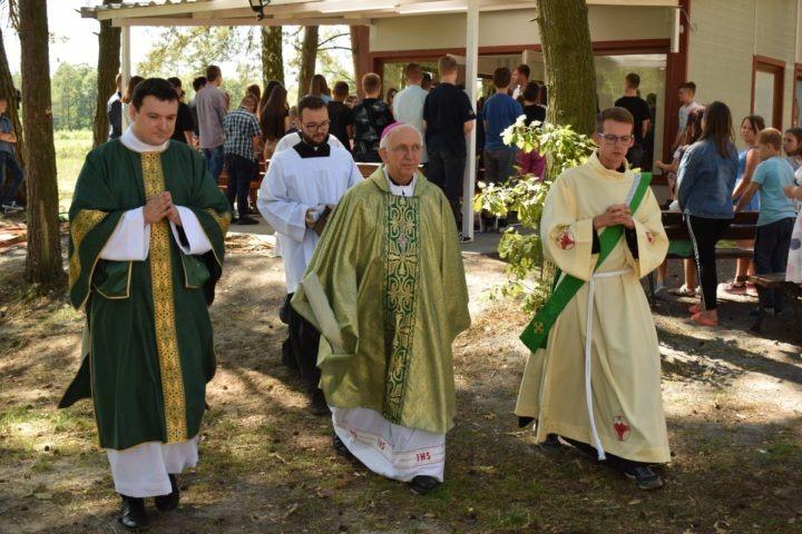 Poświęcenie Kaplicy Polowej w Poniku