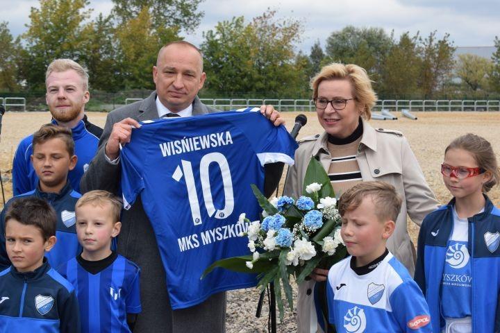 Jest dofinansowanie na remont stadionu miejskiego w Myszkowie!