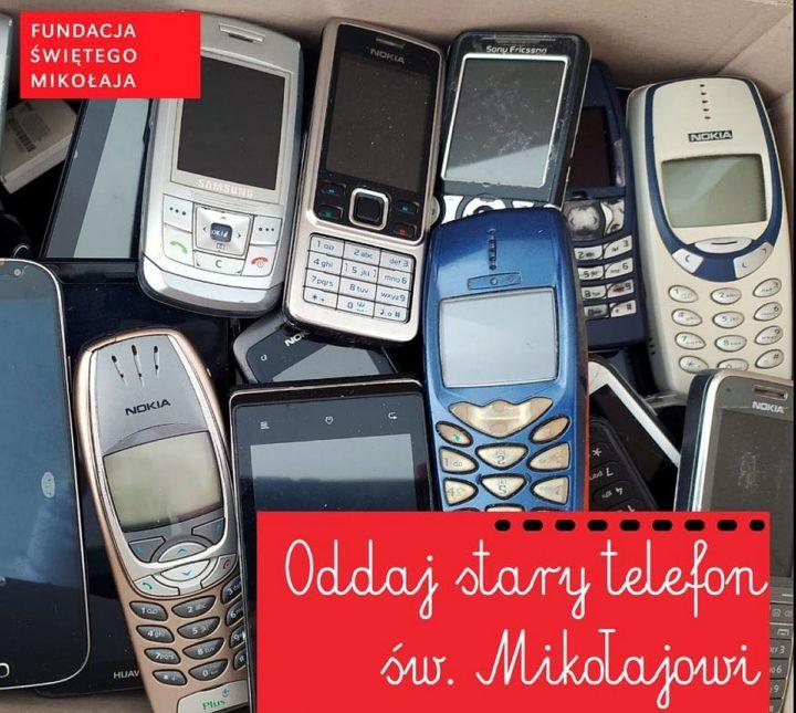 Oddaj stary telefon Świętemu Mikołajowi