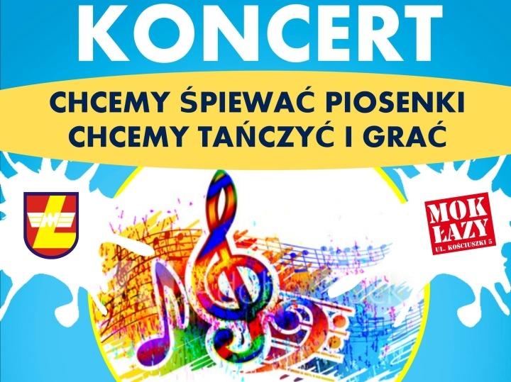 """""""Chcemy śpiewać piosenki"""" – koncert w Łazach z udziałem publiczności"""