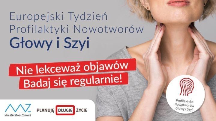Europejski Tydzień Profilaktyki Nowotworów Głowy i Szyi