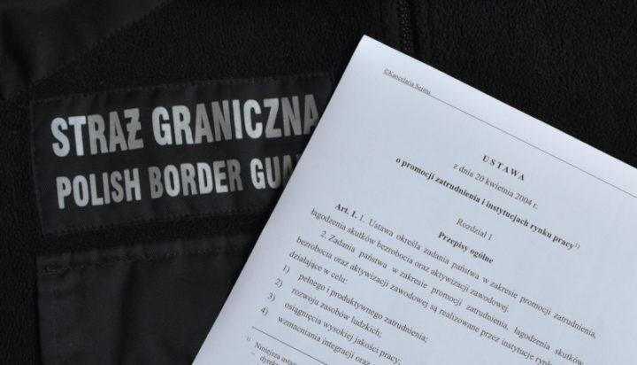 Kontrola Straży Granicznej w jednej z częstochowskich agencji zatrudnienia