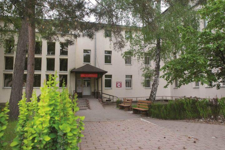 COVID-owy szpital w Blachowni
