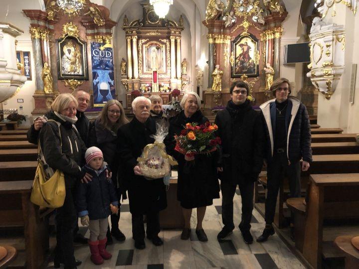 50 lat małżeństwa Elżbiety i Zdzisława Sowińskich