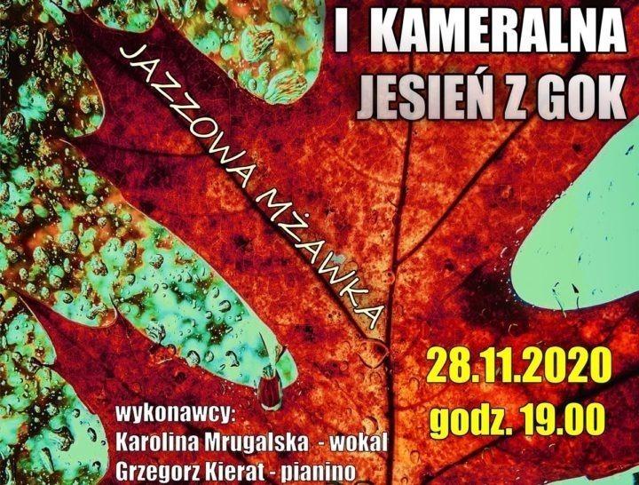 Jazzowa mżawka w Miedźnie – rozmowa z Kamilem Majchrzakiem