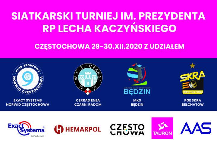 Startuje I Siatkarski Turniej im. Prezydenta RP Lecha Kaczyńskiego