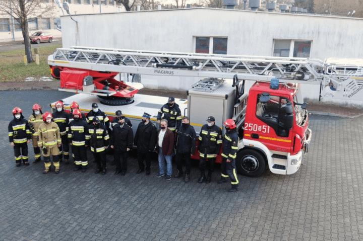 Strażacy walczą z pandemią
