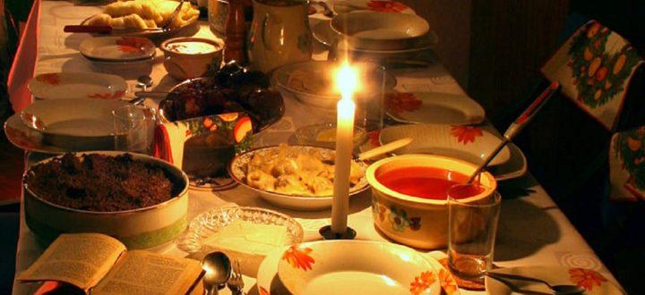 Wigilijne posiłki dla medyków