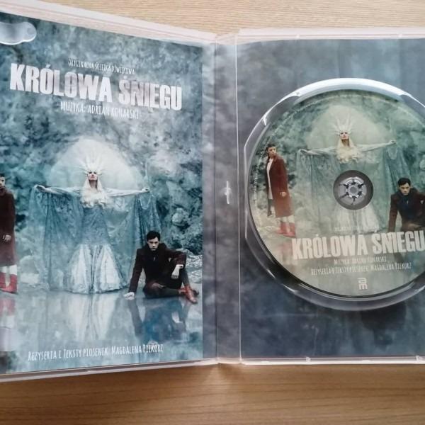 Płyta z muzyką do Królowej Śniegu