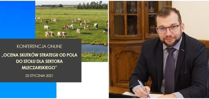 """Ocena skutków strategii """"Od Pola do Stołu"""" dla sektora mleczarskiego"""