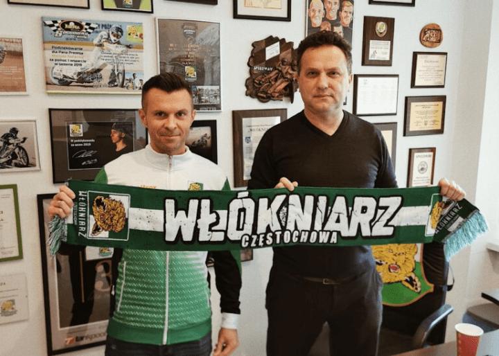 Jarosław Dymek wraca do Włókniarza