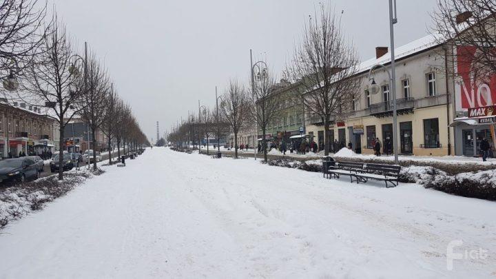 Uciążliwe poruszanie się po mieście – powodem śnieg