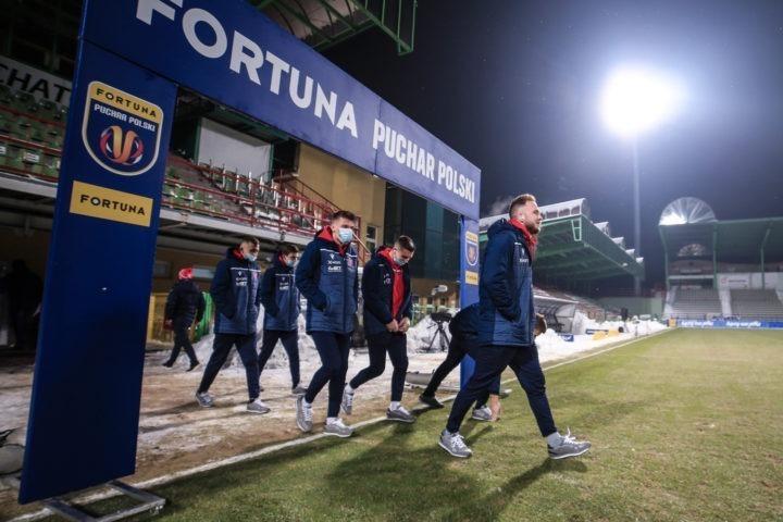 Raków z Lechem w ćwierćfinale Pucharu Polski