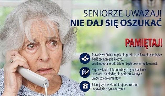 Seniorzy – uważajcie!