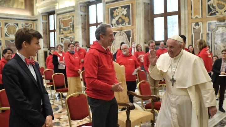 Papież do FIDESCO: przyspieszajmy nadejście Królestwa Bożego