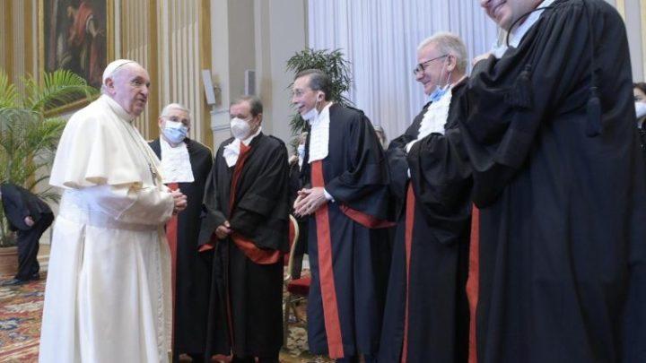 Papież zachęca do szerzenia sprawiedliwości w stylu Boga