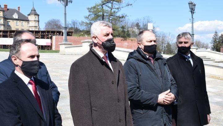Samorządowcy 27 kwietnia upamiętnili Powstańców Śląskich