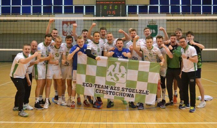 Eco-Team AZS Stoelzle Częstochowa powalczy o I ligę!