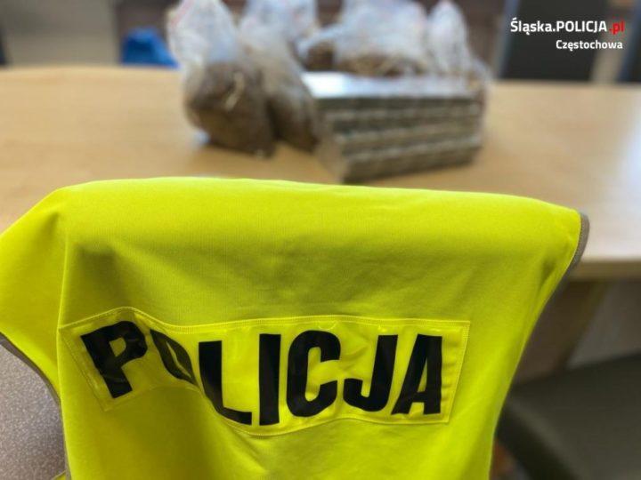 Częstochowska Policja przejęła 126 kg nielegalnego tytoniu