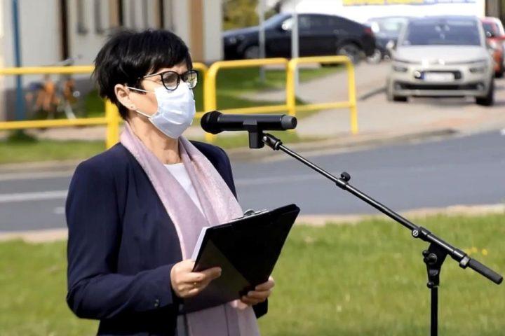 Stawiamy na zrównoważony rozwój – Lidia Burzyńska w Janowie