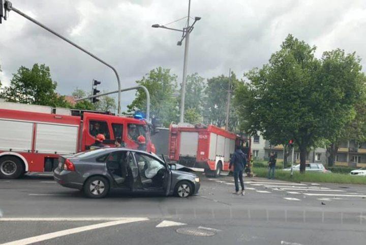 Groźny wypadek na skrzyżowaniu Jana Pawła II i Kilińskiego