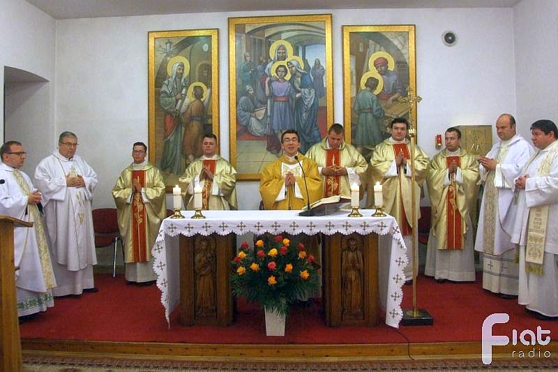 Msza św. prymicyjna w Niższym Seminarium Duchownym