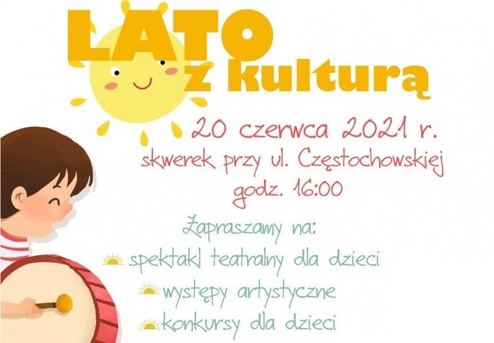 Kulturalne lato w Łazach