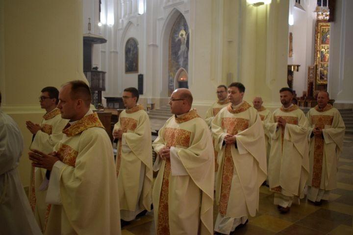 Dziękowali za 10 lat kapłaństwa