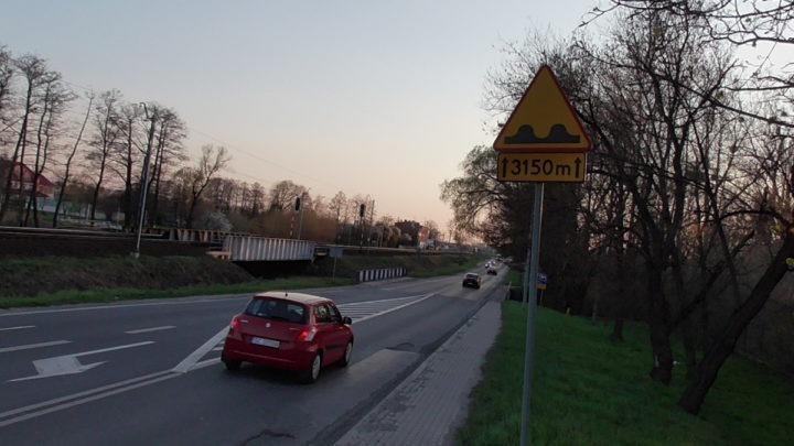Fatalny stan drogi na Opole